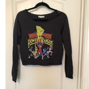 Power rangers forever 21 sweater